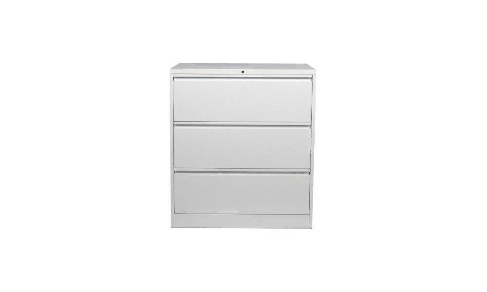 filing cabinet with 3 drawers