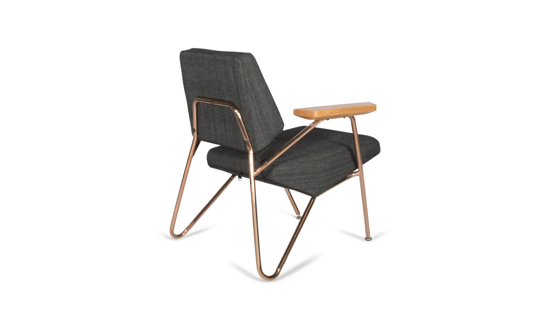 armchair brass base