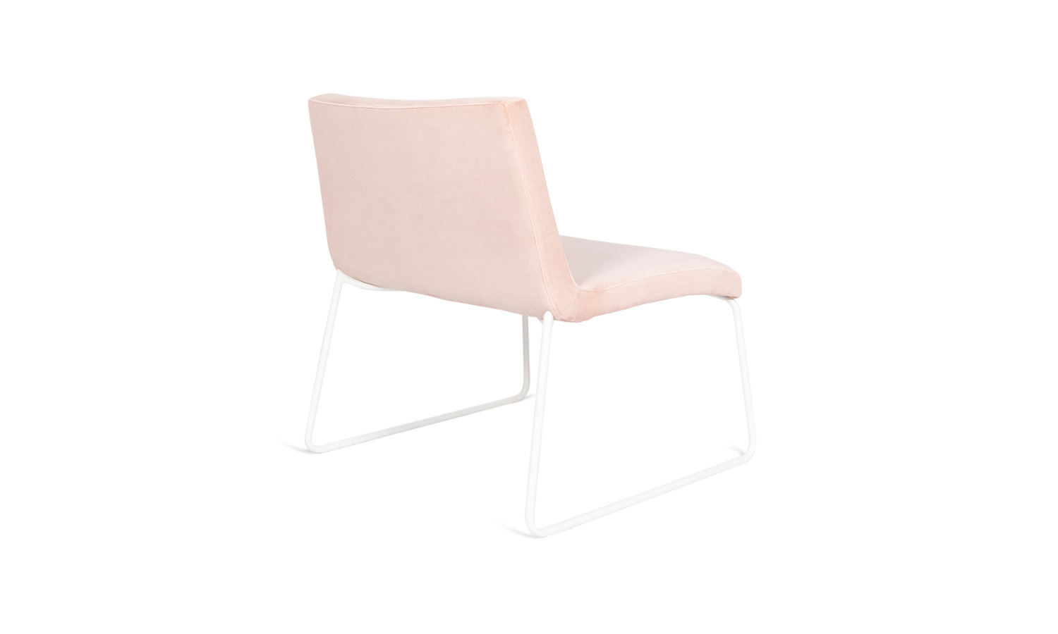 armchair with sled base