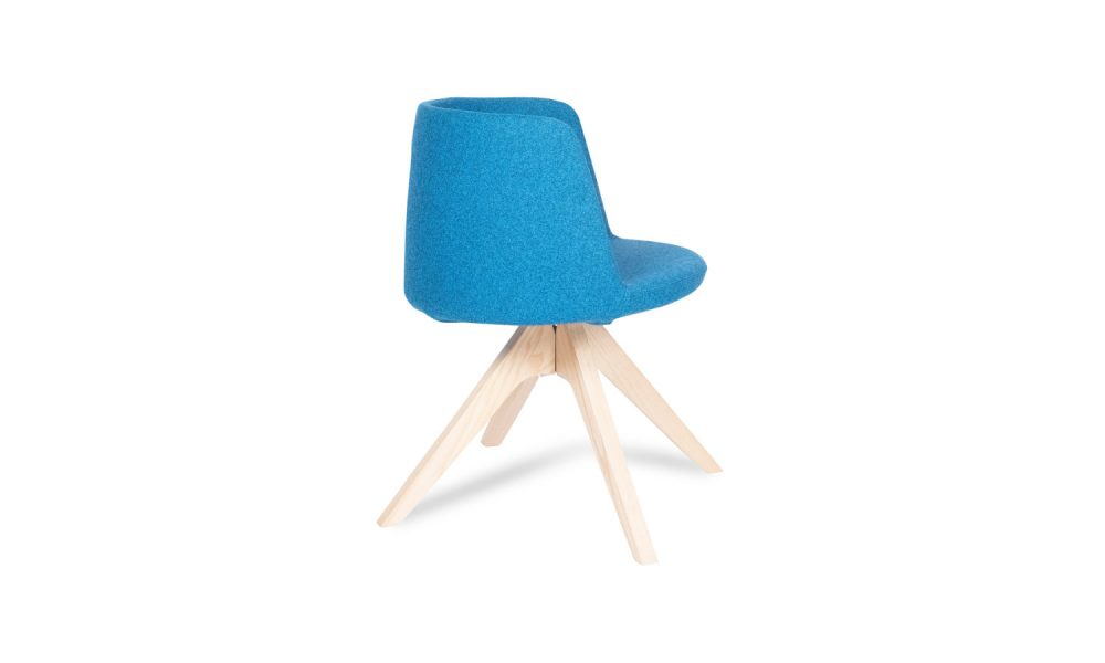 armchair with timber legs