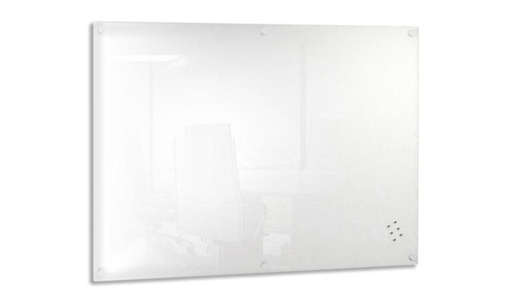 magnetic glass whiteboard for office