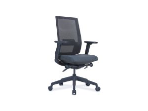 office task chair black with castors