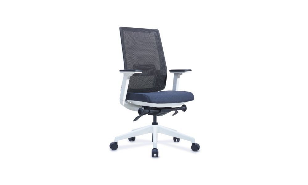office task chair white with castors