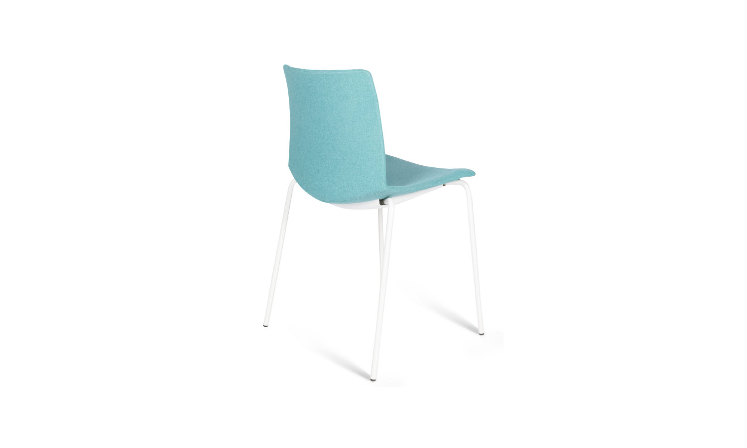 visitor chair with white legs