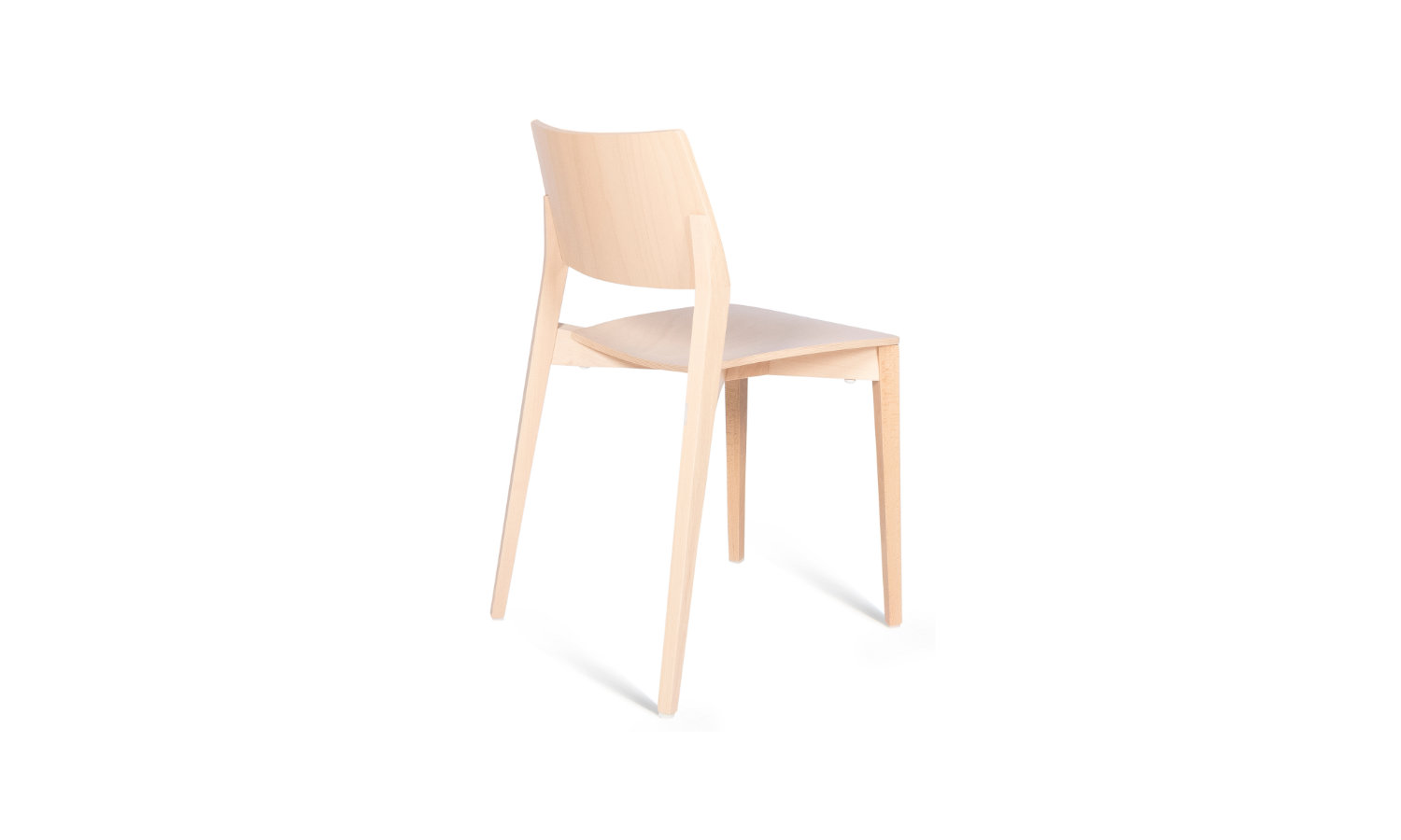 timber visitor chair or reception chair