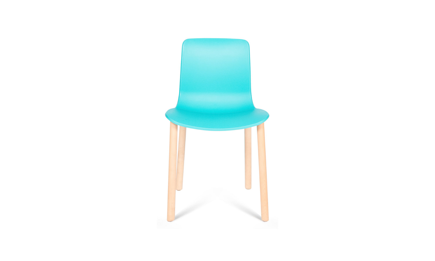 visitor and training chair with timber legs