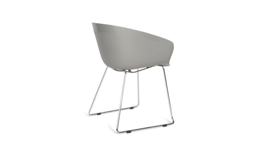 visitor and reception sled chair