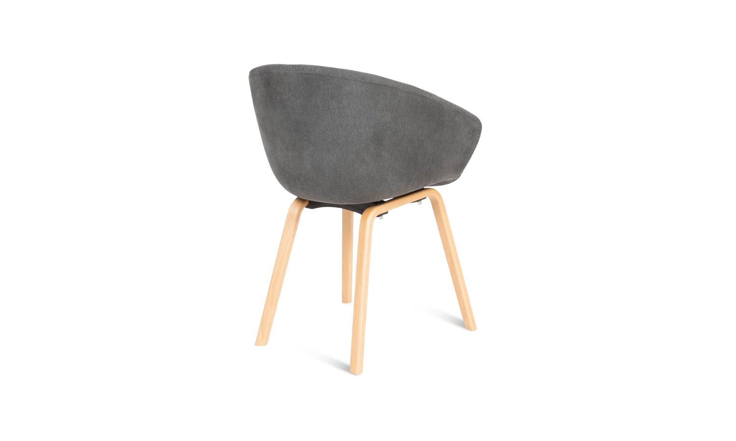 visitor and reception chair with timber legs