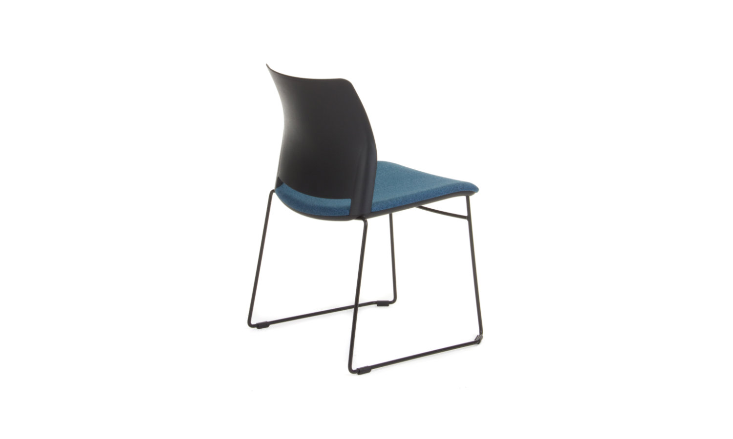 visitor chair with sled base