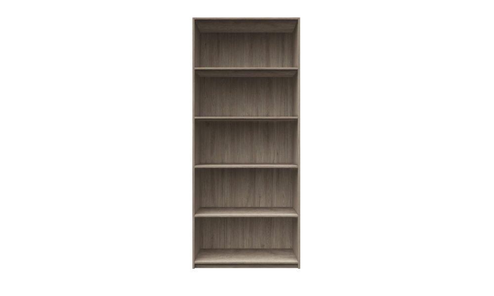 bookcase storage made with melamine