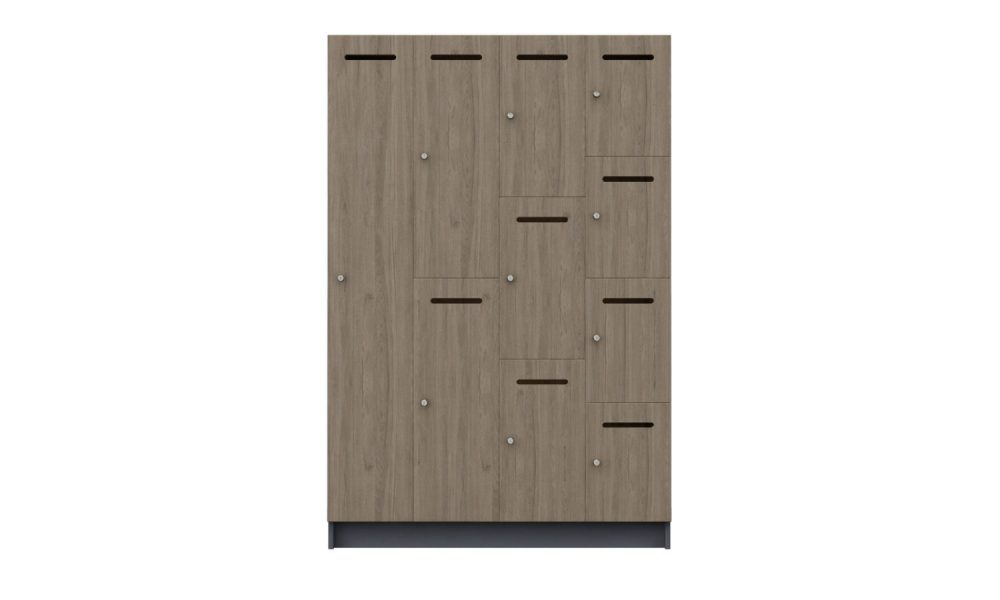 locker melamine storage