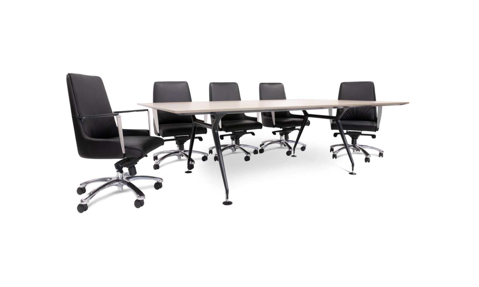 meeting table with chairs