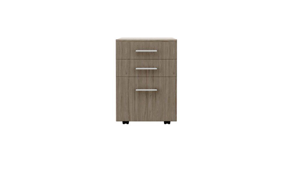 mobile pedestal drawer melamine