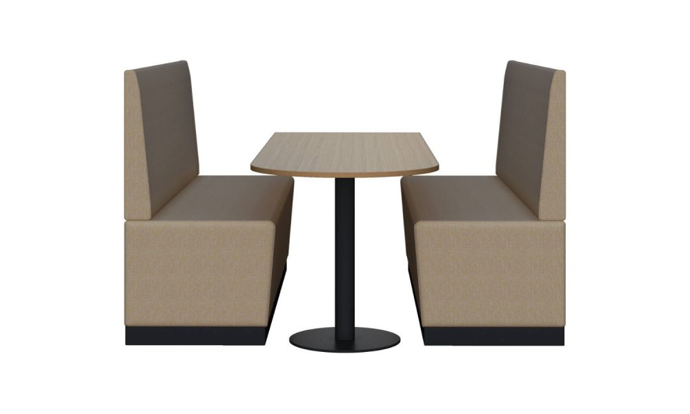 office lounge with meeting table
