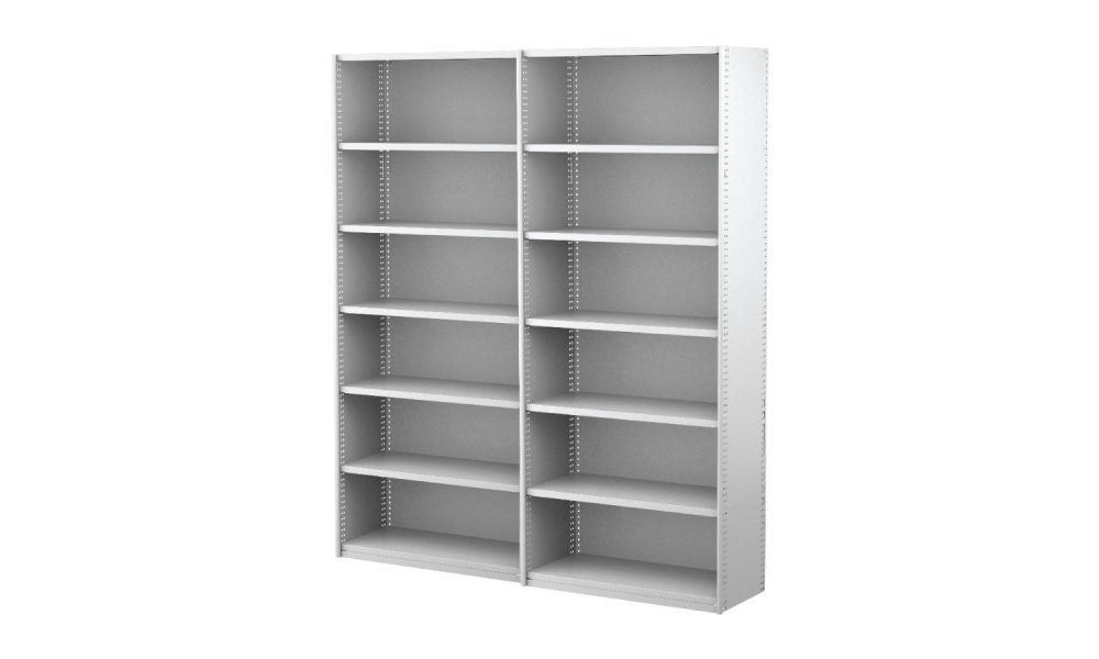 open shelving steel