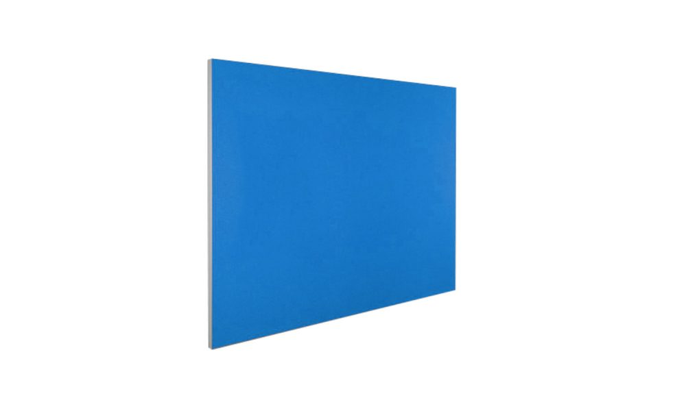 pinboard with blue material face