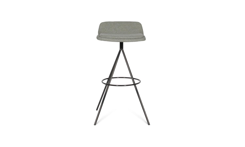 stool with powdercoat base