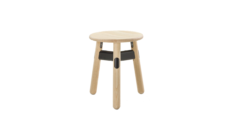 small timber stool