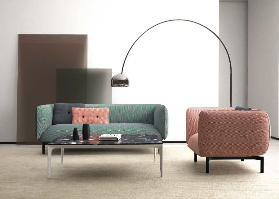 mello lounge for office furniture fitout
