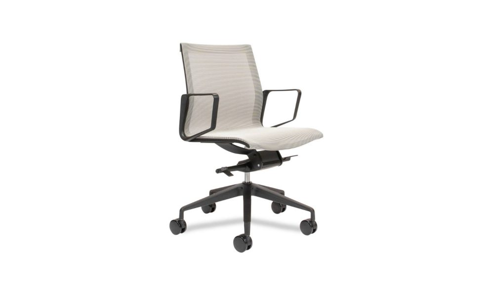 mesh meeting room chair
