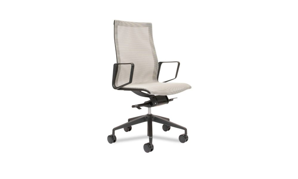 high back mesh meeting room chair