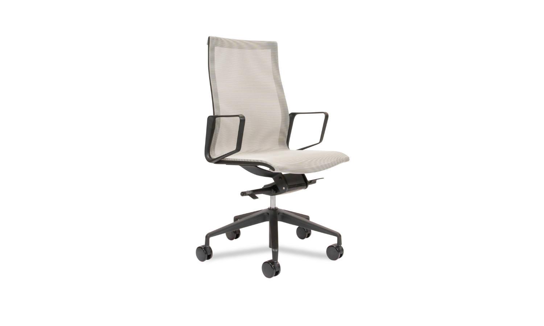 high back mesh meeting room chair