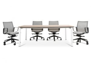 meeting table melamine top
