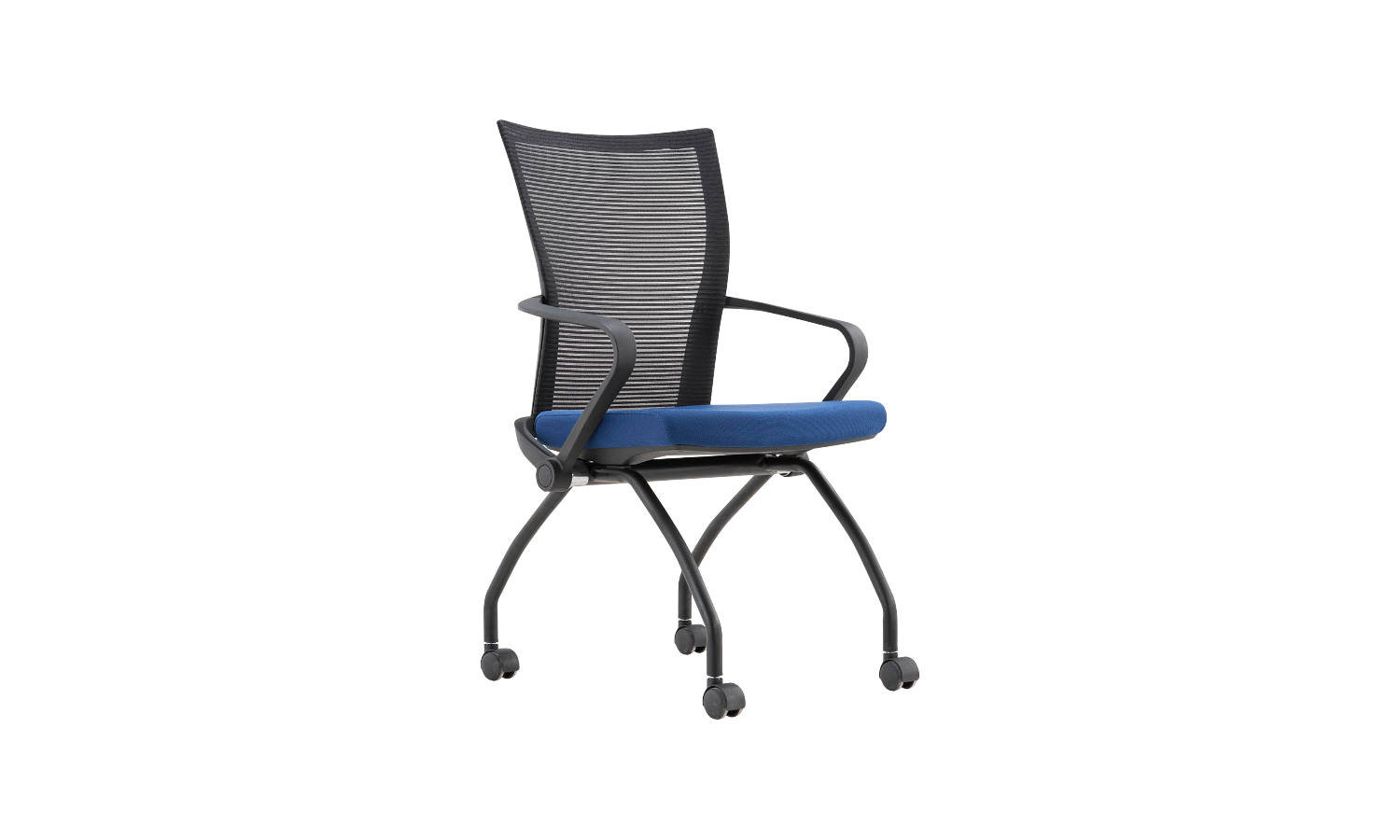 training chair with flip up base