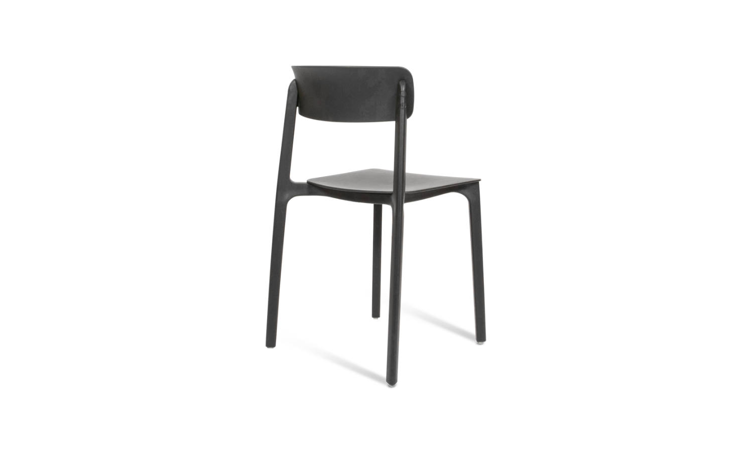 visitor chair in black