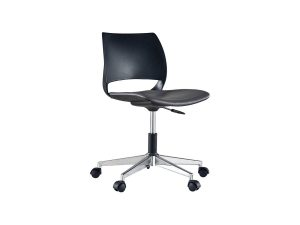 swivel visitor and training chair