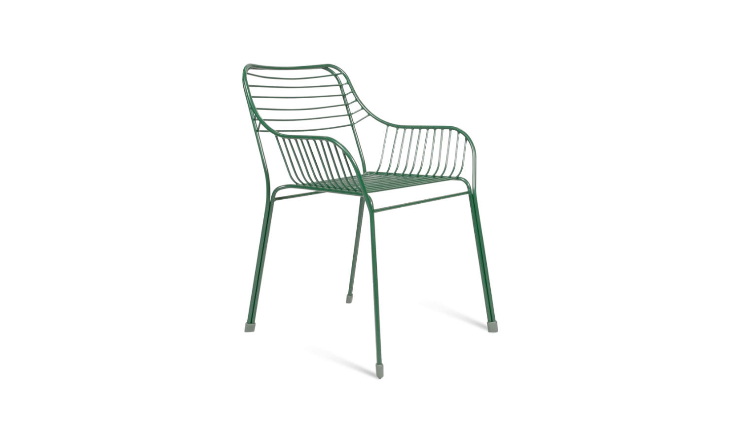 green visitor chair for the office