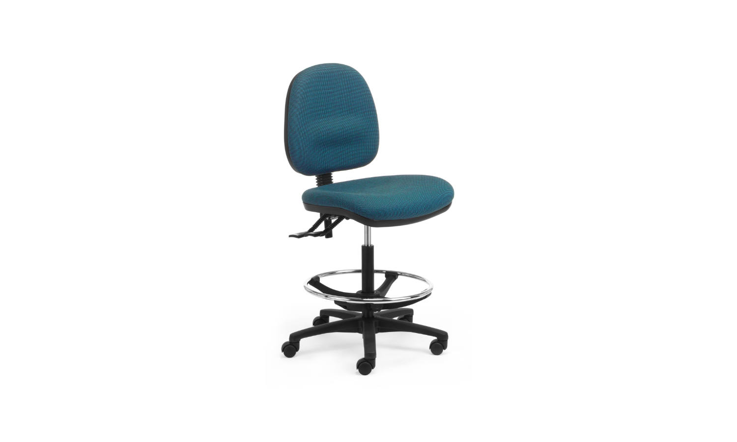 office task chair with drafting kit