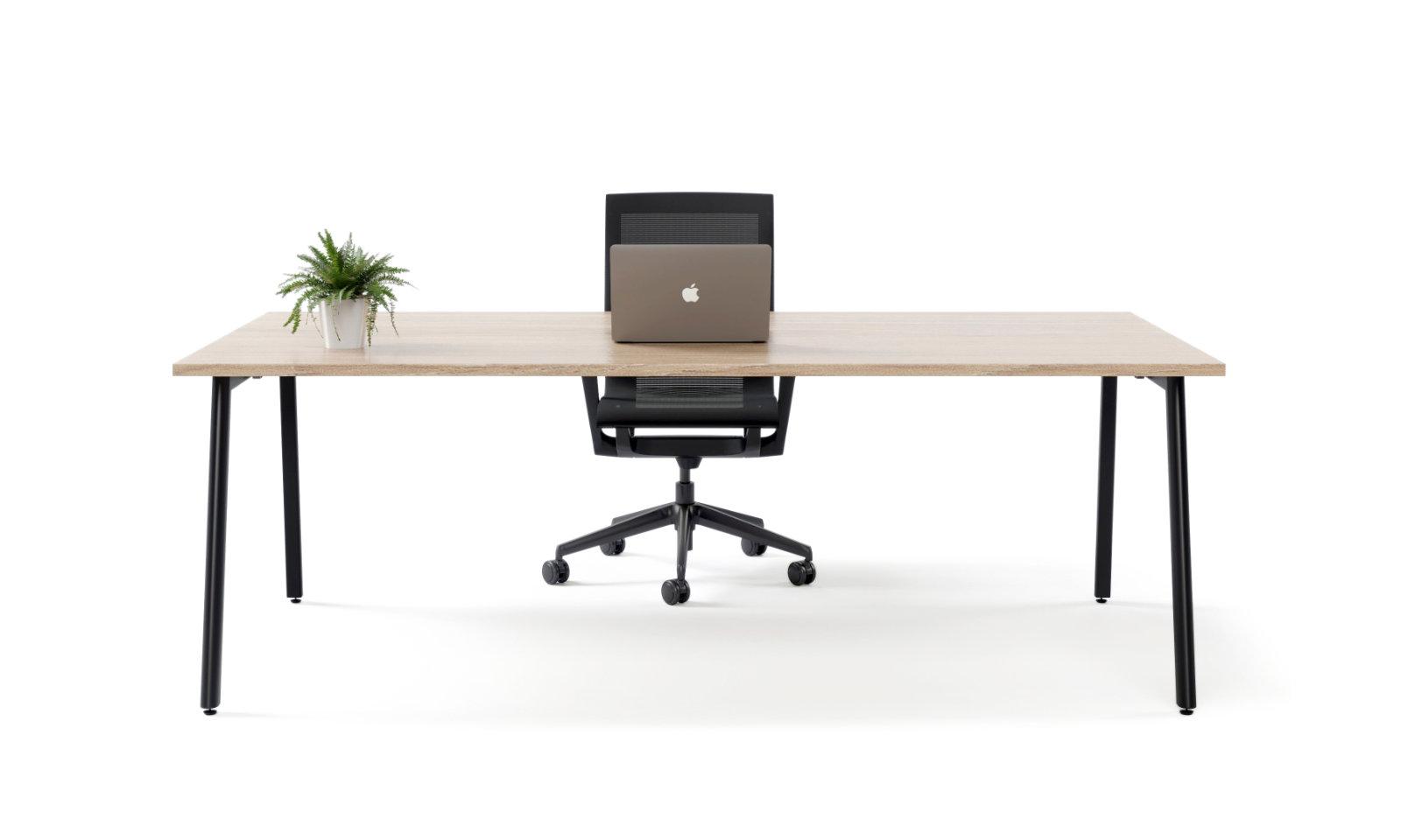 orbit black office desk